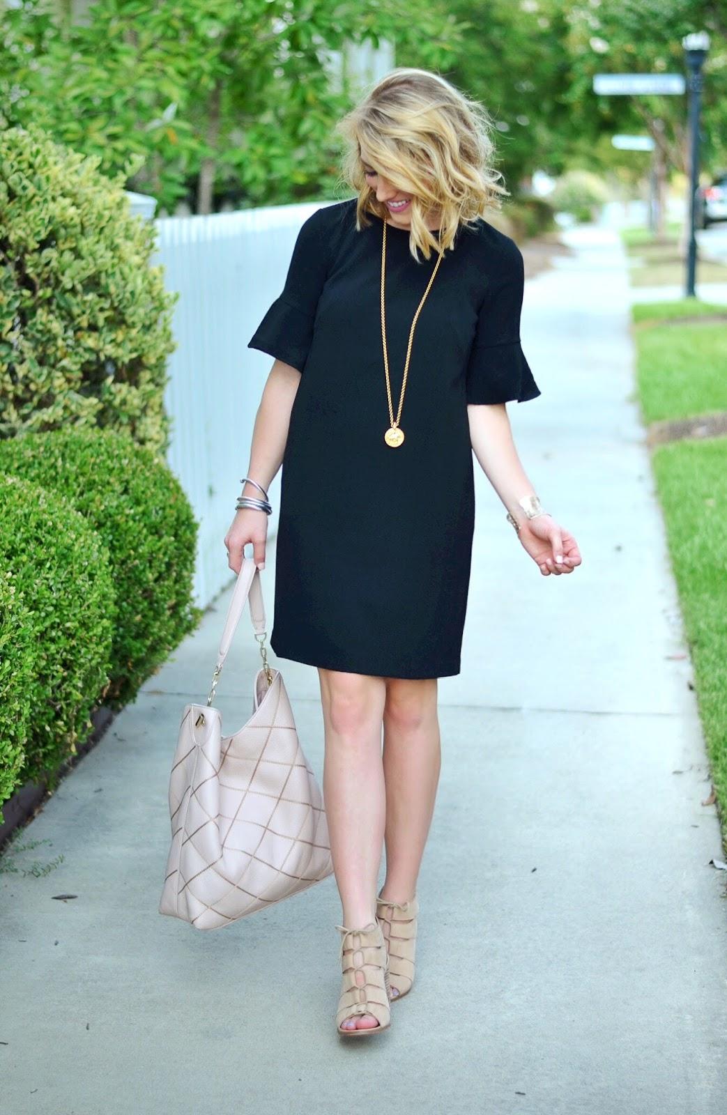 The perfect little black Dress (Something Delightful Blog)