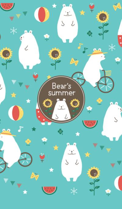 Bear's summer