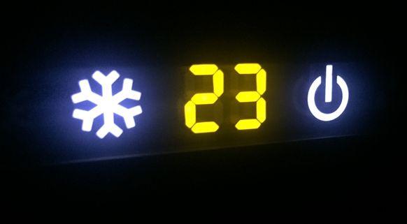 Temperatura 23ºC