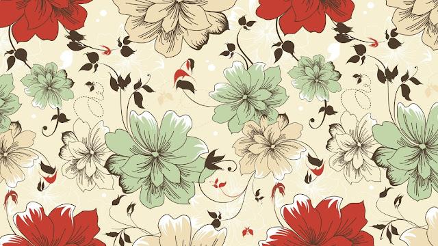 fiori, carta fiorata,