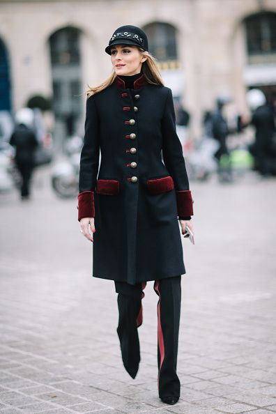 The Olivia Palermo Lookbook Olivia Palermo At Paris Couture Fashion Week