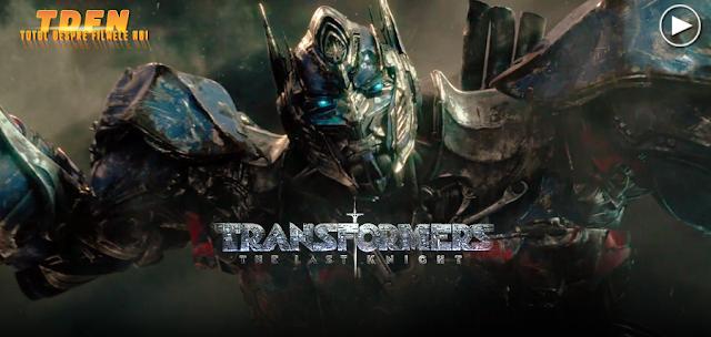Primul trailer pentru Transformers: The Last Knight.