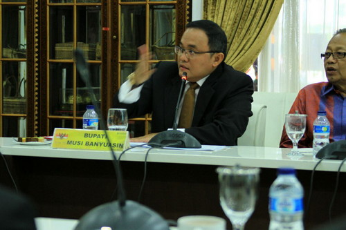 Peremajaan Lahan Sawit Muba Jadi Percontohan Petani Sawit se Indonesia