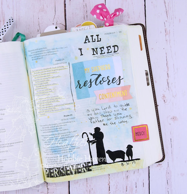 Heather's Hobbie Haven - Illustrated Faith - Persevere - Week 4