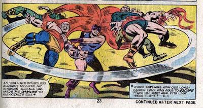 Fantastic Four 153-Buckler-Medusa