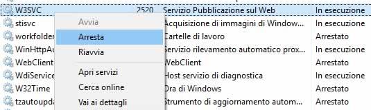 Come bloccare IIS su Windows 10 | Oggi è un altro post