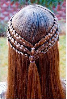 Trenzas - Peinados para niñas