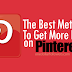 Buy Pinterest Likes For $1 [Guaranteed]