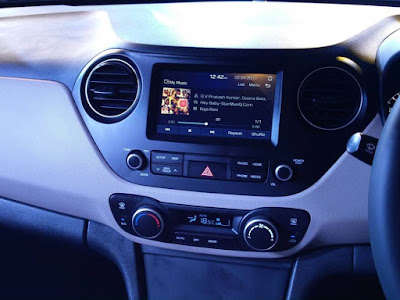 2017 Hyundai xcent facelift Touchscreen audio system