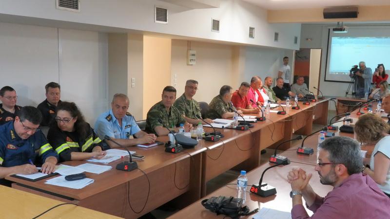Συνεδρίασε το Συντονιστικό Όργανο Πολιτικής Προστασίας Έβρου για τη νέα αντιπυρική περίοδο