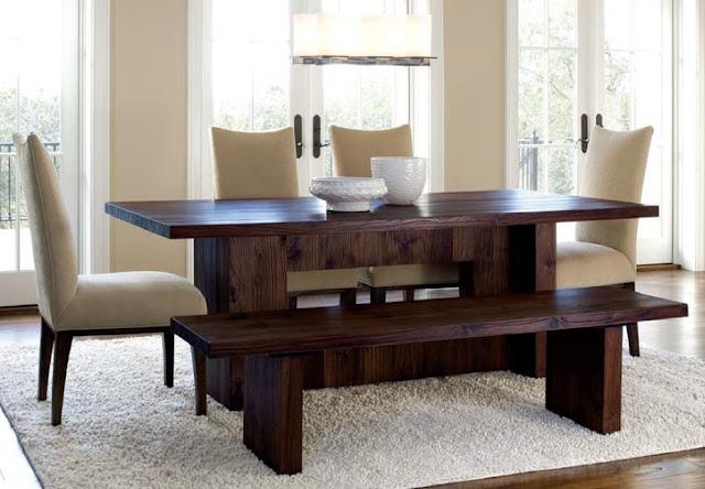 tips memilih meja makan kayu jati