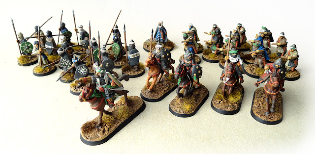 Moorish 4pt Warband for Saga Crescent and Cross