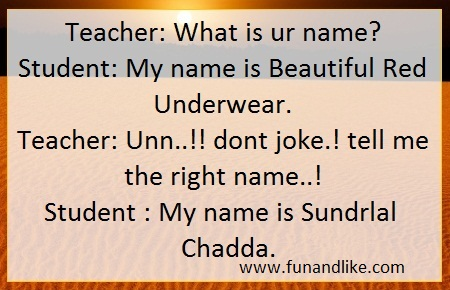 Funny SMS Jokes in Hindi & English - Smile SMS