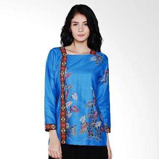 Gambar Model Baju Batik Kantor Wanita