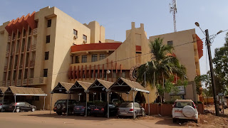 Unique buildings in all over Ouagadougou