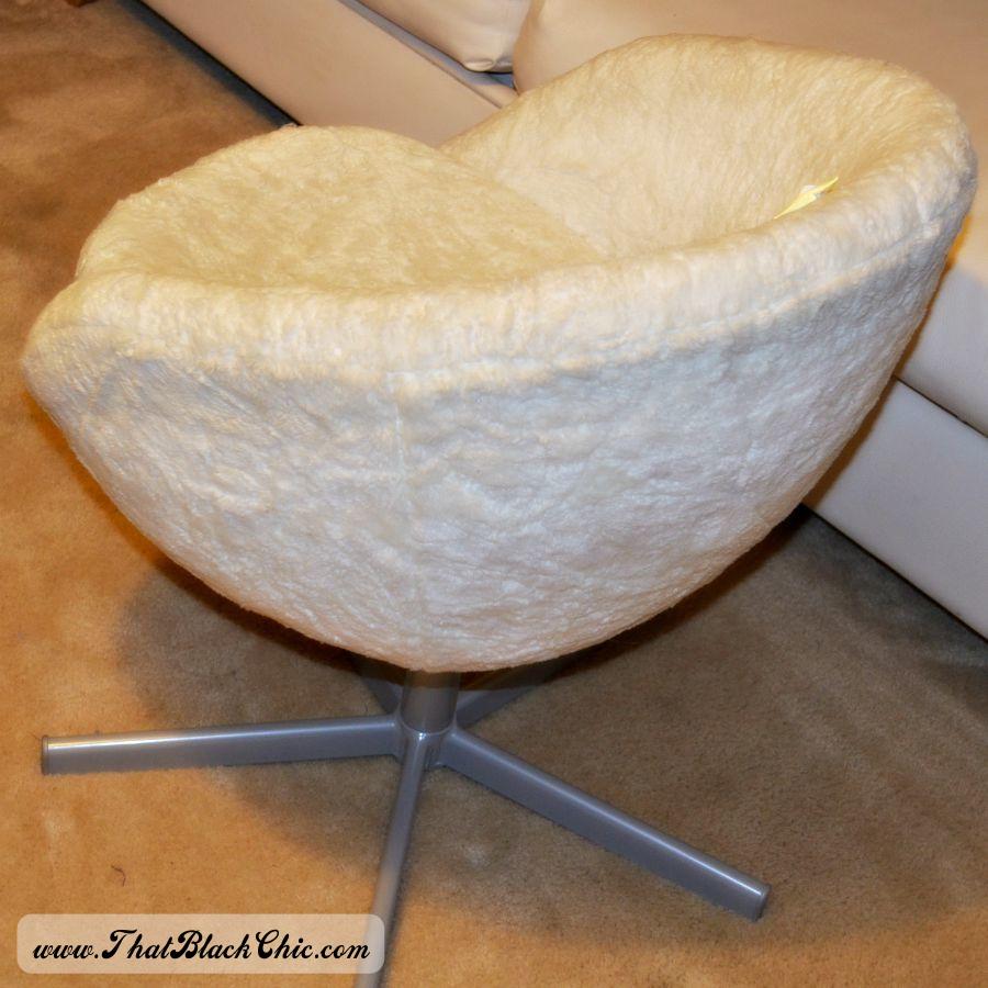 Fantastic DIY: IKEA Hack on the SKRUVSTA Swivel chair, done denim style  GI18