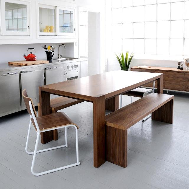 desain meja makan kayu jati