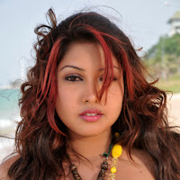 Komal jha sexy beach side photoshoot