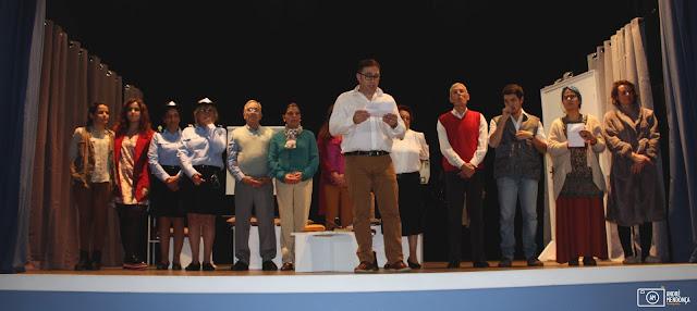 Grupo Cénico do GIPA agradece ao público