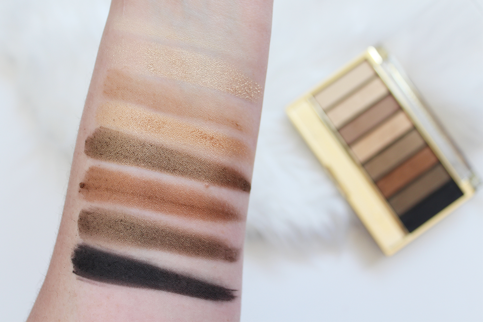 MAX FACTOR | Masterpiece Nude Palette Contouring Eye Shadows in 02 Golden Nudes - Review + Swatches - CassandraMyee