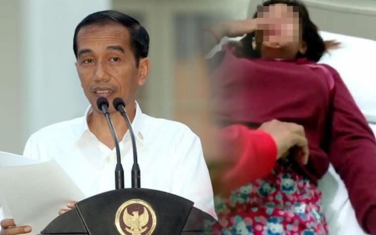 Dengar Kasus Penganiayan Terhadap Audrey,Presiden Joko Widodo Meminta Polisi Untuk Bertindak Tegas