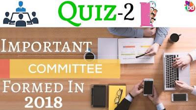 Important Committees Forward In India | Practice Quiz-2