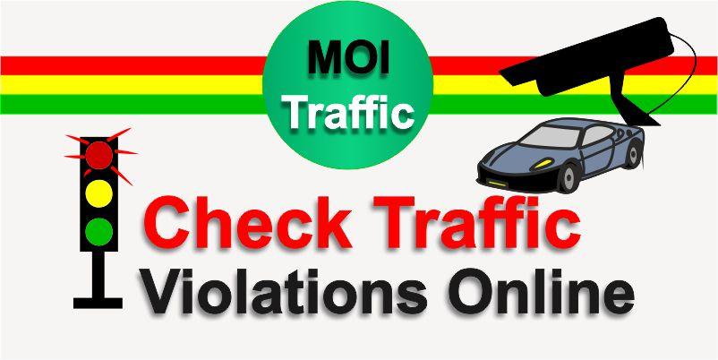 Traffic Violation Fine Check MOI