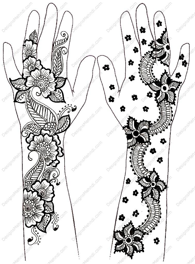 idealistic politics: Simple Mehndi Designs For Beginners