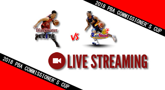 Livestream List: ROS vs Blackwater June 8, 2018 PBA Commissioner's Cup