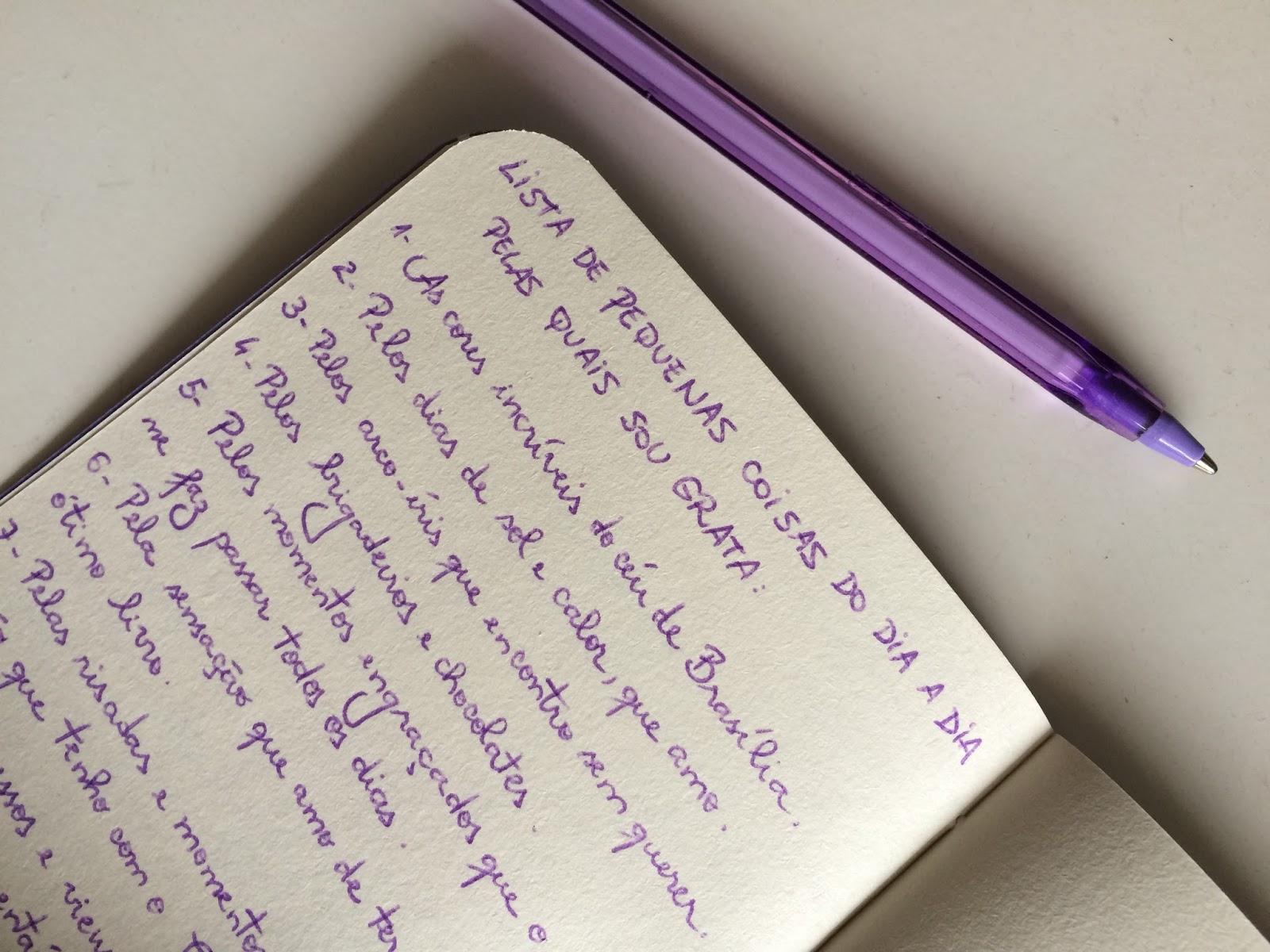 Lista da gratidão felicidade blog mudando a rota