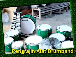 Pengrajin Alat Drumband Tulungagung