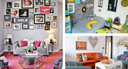 Eclectic home decor pictures.