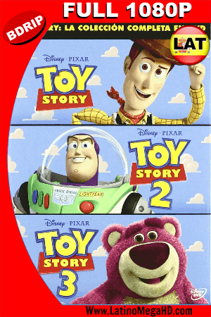 Toy Story Trilogia (1995, 1999, 2010) Latino HD BDRIP 1080P ()