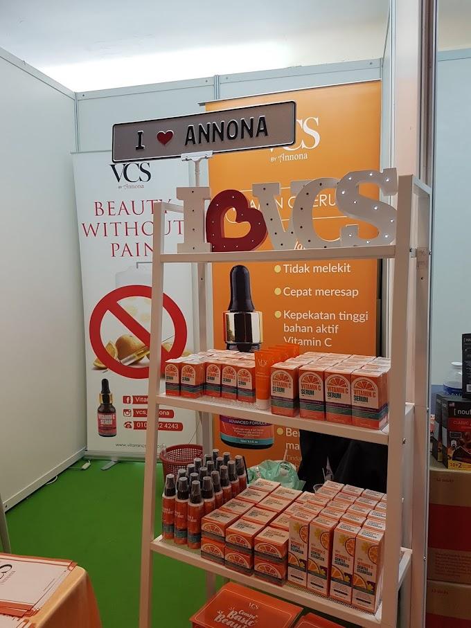 Berkesan ke Vitamin C Serum Annona ni?
