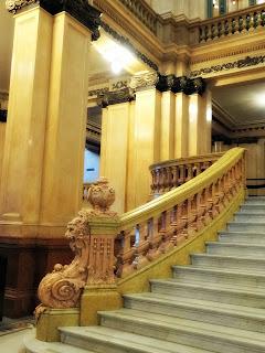 Corrimão da Escadaria do Teatro Colón, Buenos Aires