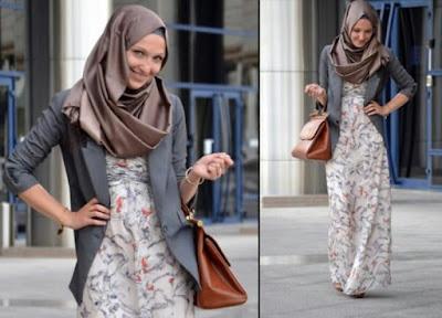 Model Hijab Kantoran