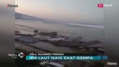 Bandar Palu Sulawesi Selepas Dilanda Tsunami Banyak Penduduk Hilang