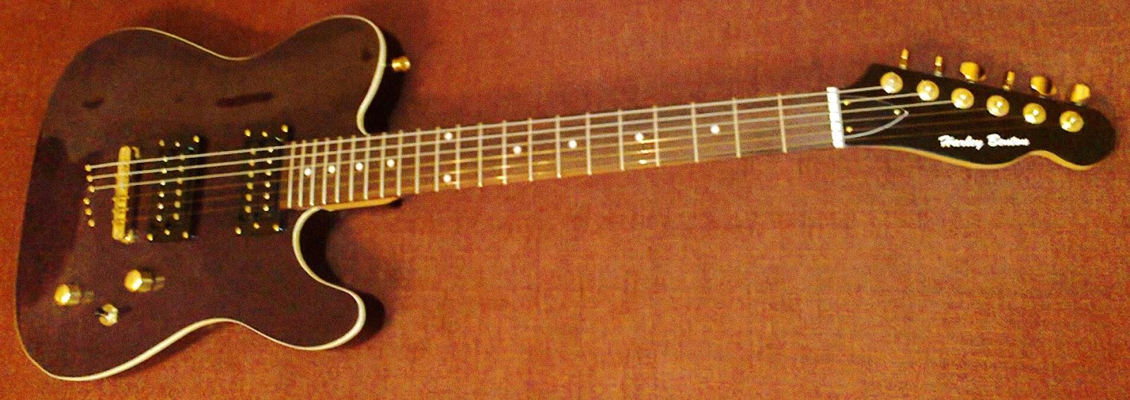 Harley Benton Tele guitar (TE-40bk) | Guitar Dreamer