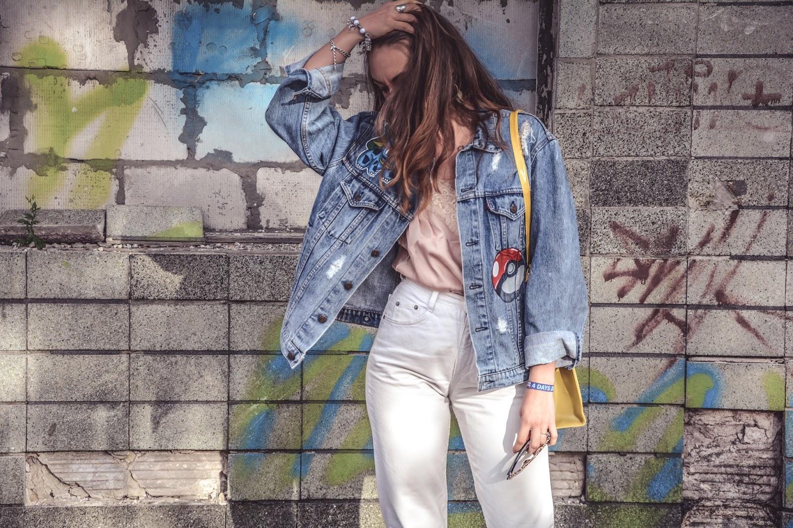 pokemon jeans jacket