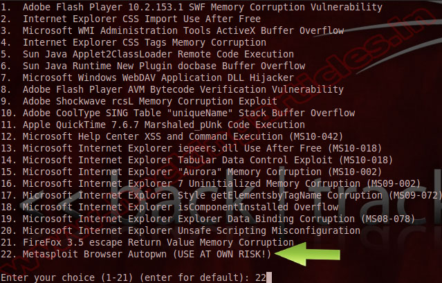 how to use social engineering toolkit on windows