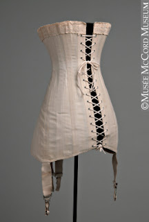 time traveling in costume a 1911 corset to carry me into