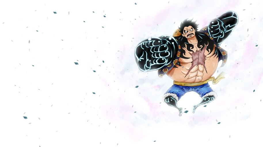 Luffy, Fourth Gear, Boundman, One Piece, 4K, #6.36