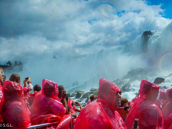 Paseo en el barco Hornblower. Cataratas Niagara
