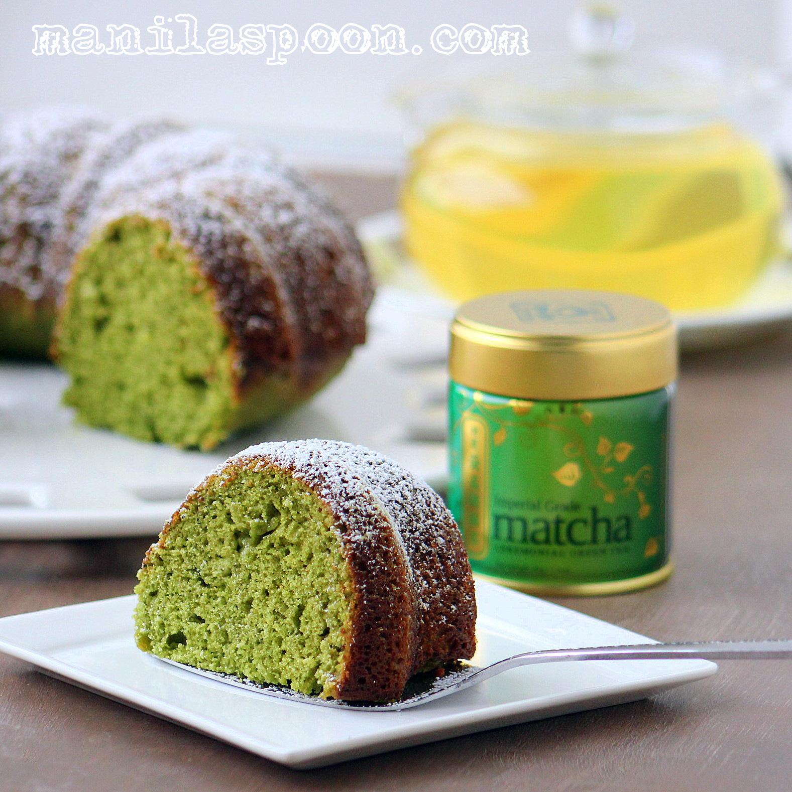 Amazing Green Tea Cake