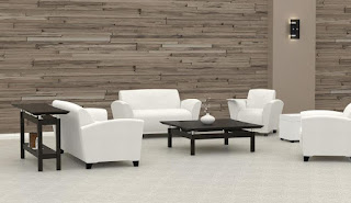 White Leather Lounge Furniture
