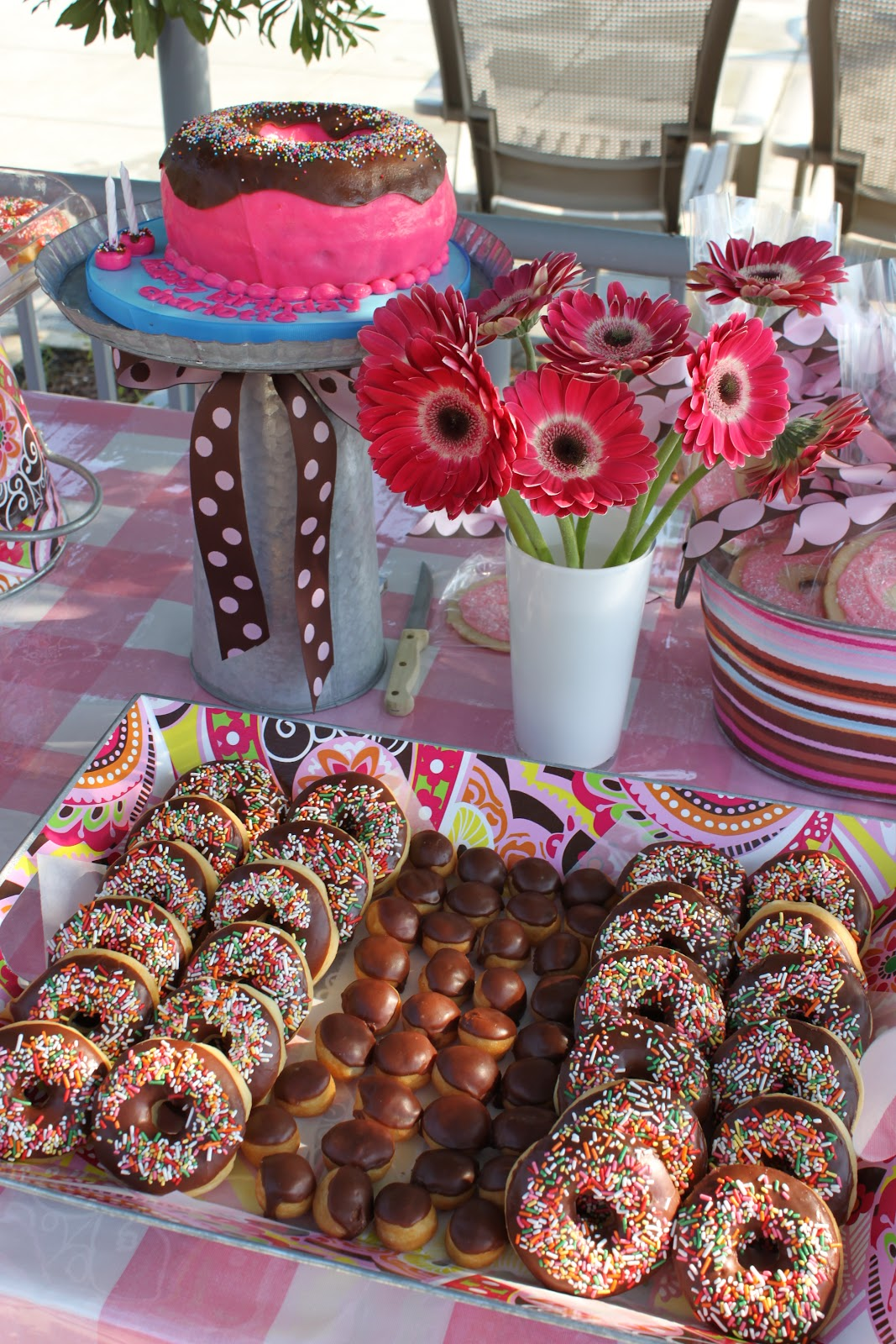 Sweetest Donut Birthday Party | Fresh Ink : Style ...