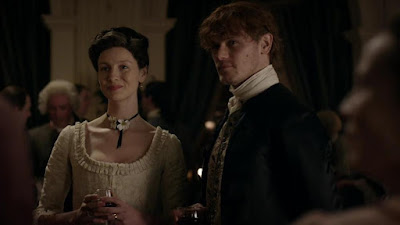 Claire y Jamie conocen a George Washington en el 4.08 de Outlander