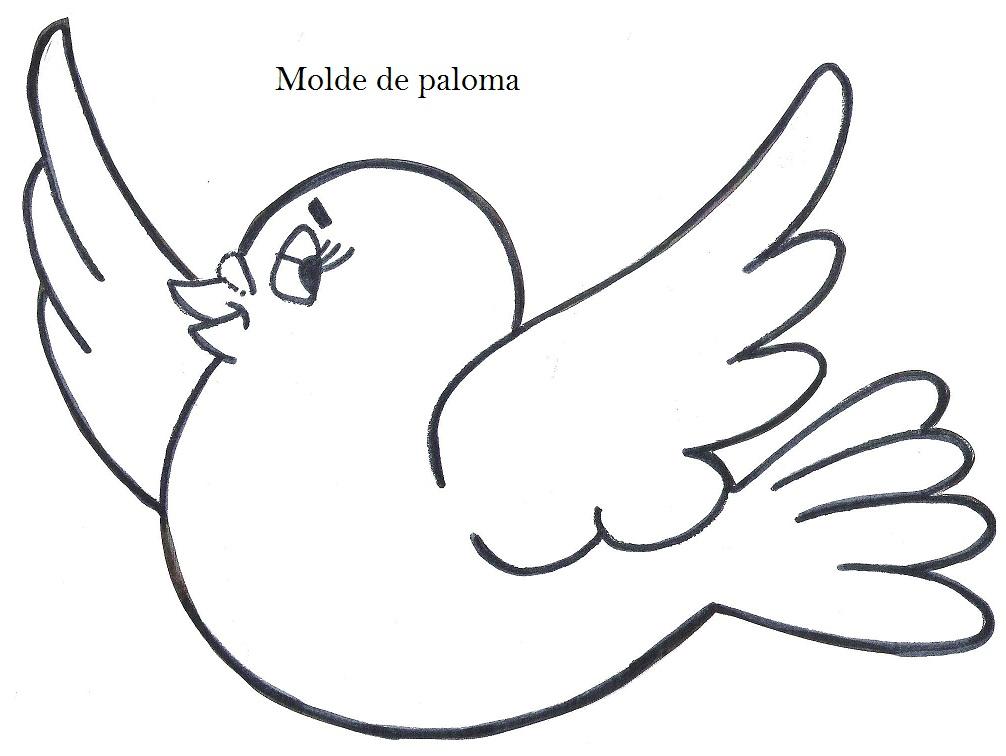 Moldes De Palomas Para Imprimir