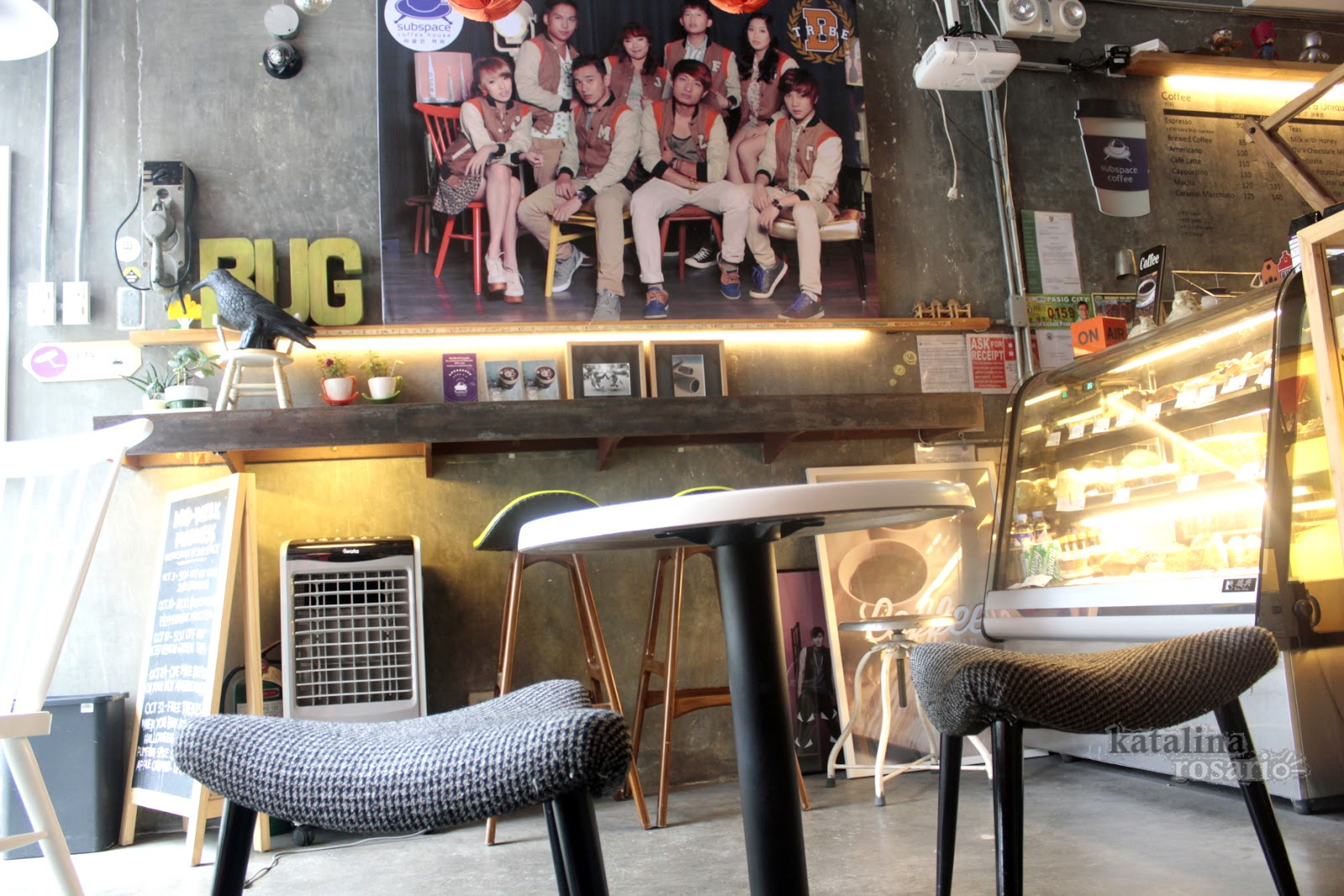 Places To Borrow Tables And Chairs Swing Chair Baby Sale Subspace Coffee House A Comfy Korean Cafe Within The Busy