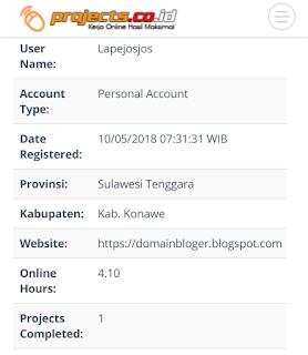 Cara Mendapatkan Uang dari Project.co.id